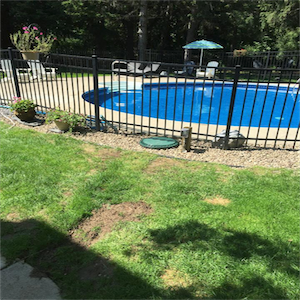 Pool filter and repair