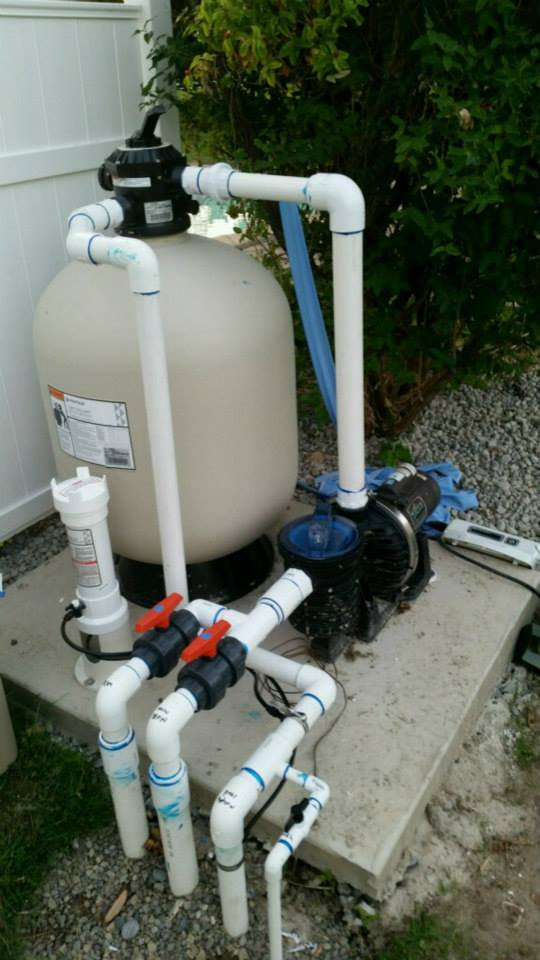 Pool FIlter Installation