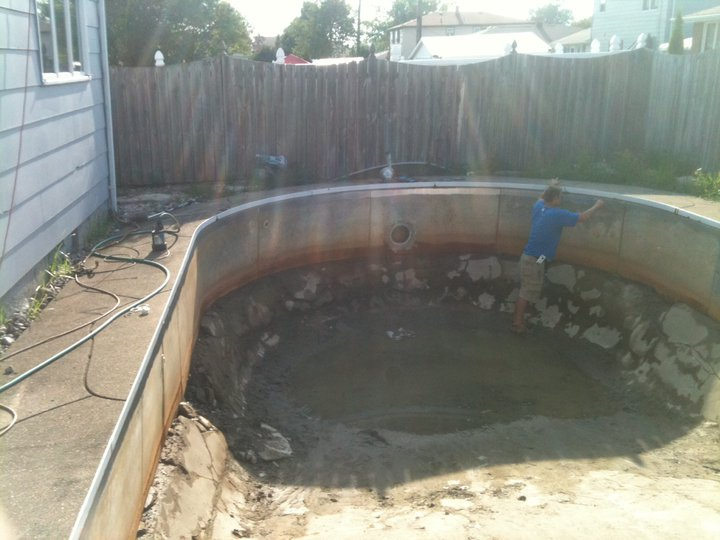 In Ground Pool Renovation Liner Guys